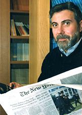 2008年诺贝尔经济学奖获得者为保罗-克鲁格曼