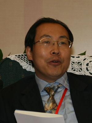 图文:中国证券投资基金年鉴执行主编杜书明
