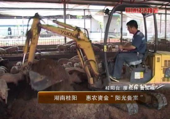 湖南桂阳:惠农资金阳光备案