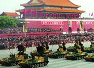 1999年国庆阅兵中自行高炮武器系统