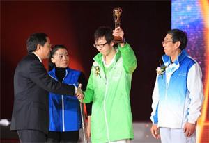 世博会志愿者团体获CCTV经济年度人物公益奖