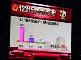 晚会12315热线发布