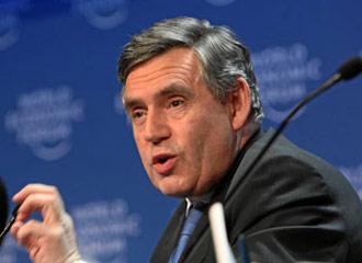 布朗发出反对贸易保护主义强音