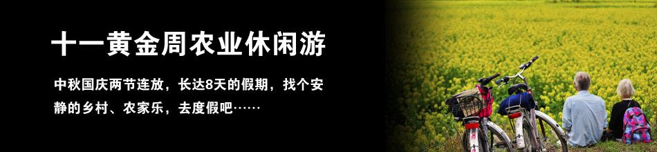 十一黄金周农业休闲游