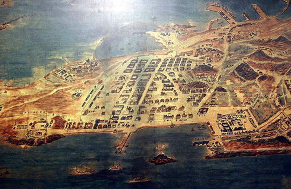 1906年青岛地图