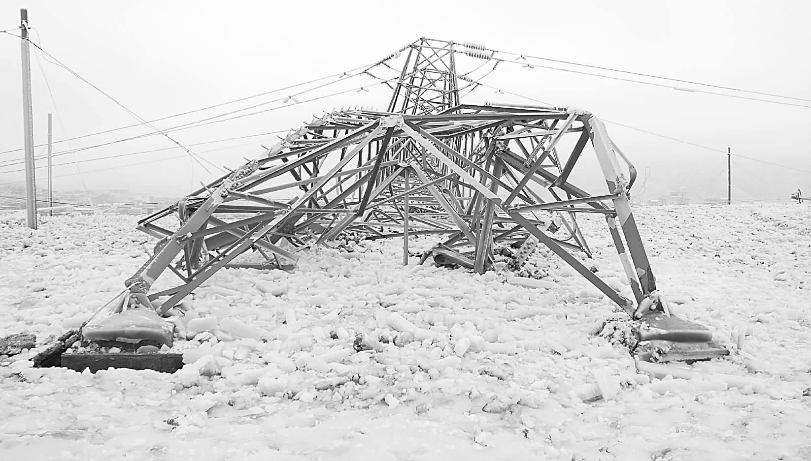 雪灾大范围袭击中东部