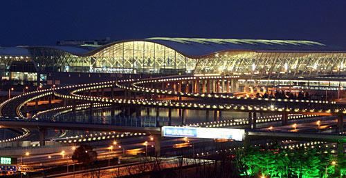 国际机场 上海浦东