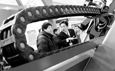 济南德高大型设备亮相京城展出图片