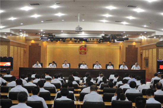 安徽高院传达贯彻全国高级法院院长座谈会精神