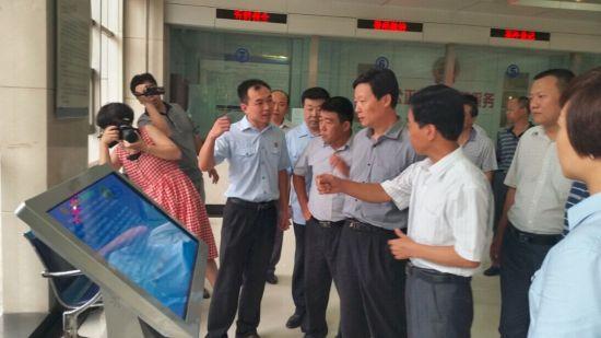 廊坊法院考察组赴邯郸法院考察学习
