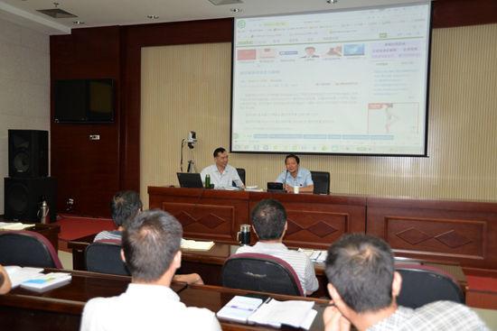 莲湖法院深入行政机关宣讲新行政诉讼法