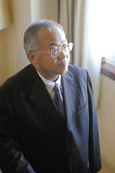 9月18日,出狱后的顾雏军接受新京报记者采访。新京报记者 秦斌 摄