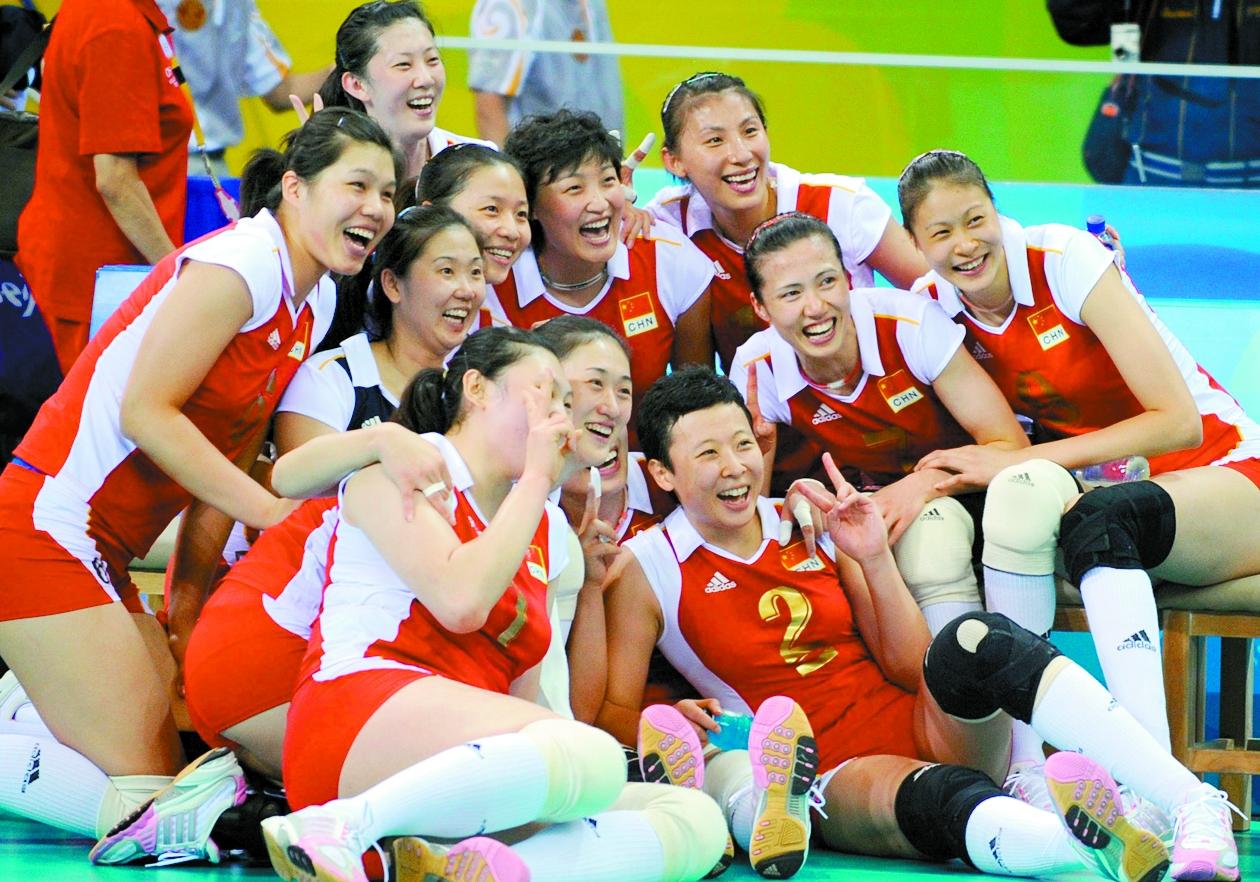 中国女排女篮双双晋级四强