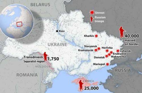 俄罗斯首次承认在乌边境部署军队