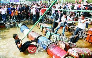 重庆国庆旅游接待破1千万人次 各景点人满为患