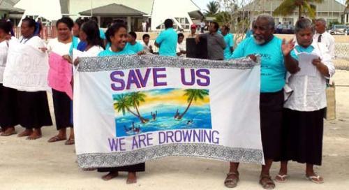 气候变暖引发生存危机 基里巴斯欲举国搬迁