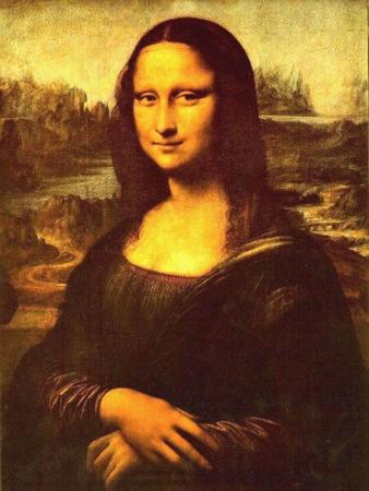 意大利专家发现蒙娜丽莎眼中藏达・芬奇密码