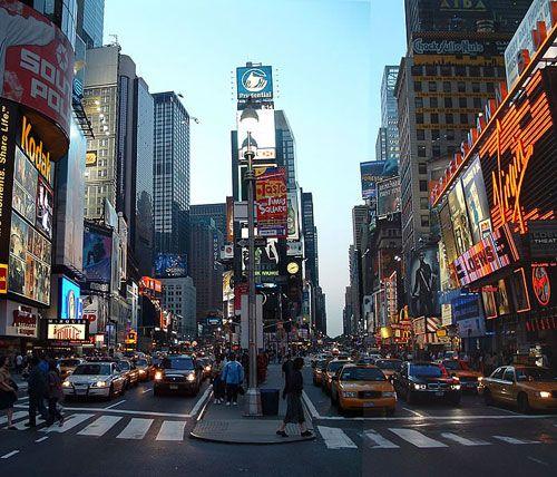 纽约时报广场:财富与艺术牵手的疯狂地(组图)