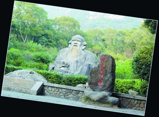 """福建泉州老君造像在异地景区遭""""山寨""""(图)"""