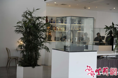 山西博物院:临时展厅变身高档会所(图)
