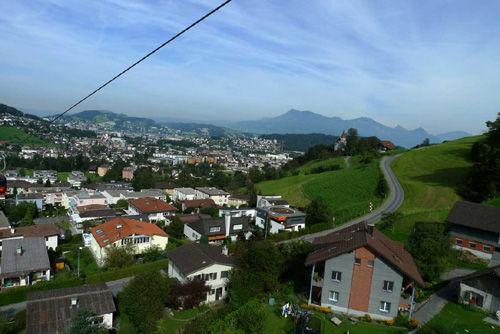 从皮拉图斯开始:最美的瑞士琉森金色环游(组图)