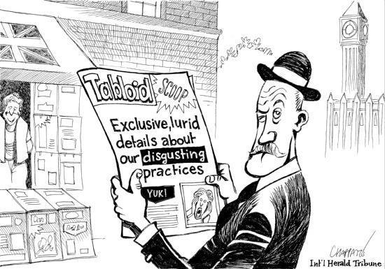 英国不可能没有小报