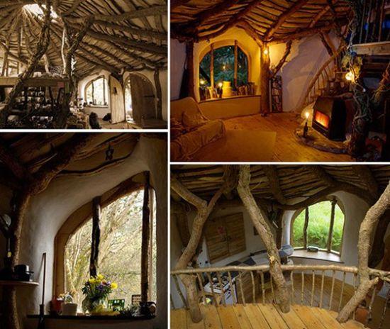 英男子徒手造房屋 酷似《魔戒》霍比特住宅(图)