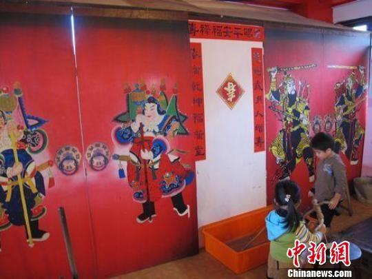 台湾九份老街民间博物馆的中国元素(组图)