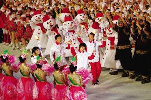 第十二届全国冬季运动会在长春开幕(图)