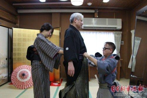 """在日本体验""""和服文化"""""""