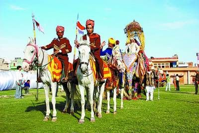 印度洒红节:安歇灵魂愉悦众生(组图)