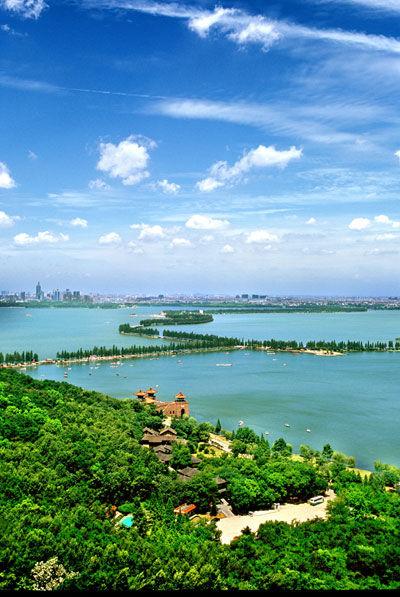"""武汉东湖风景区将造""""四季花城""""(图)"""