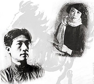 徐悲鸿与孙多慈