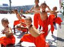 中国奥运少林小子亮相