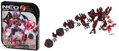 镭射机器人模型玩具介绍(附图)
