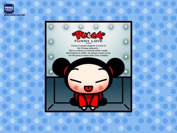 中国娃娃可爱卡通壁纸集锦(3)