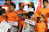 印度儿童普及流感预防知识