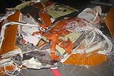 法航失事飞机残骸