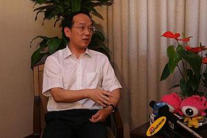 宜昌市市长李乐成接受新浪网访谈