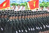 三军女兵方队