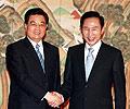 胡锦涛2008年8月访问韩国