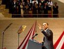 奥巴马日本东京发表演讲