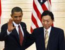 奥巴马与鸠山会谈