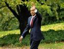 奥巴马启程