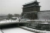 北京大雪纷飞