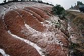 岳阳公路护坡出现轻度覆冰积雪