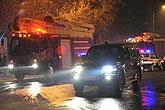 消防车辆到达发生爆炸厂区