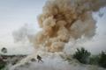 银奖:美国海军陆战队士兵躲避地雷爆炸
