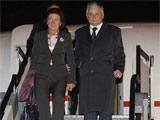卡钦斯基及夫人出访斯洛文尼亚