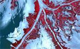 墨西哥湾油污卫星图像